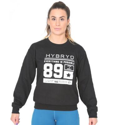 Hybryd 89 Crew - Black