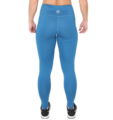Hybryd Halo Legging - Azure Blue