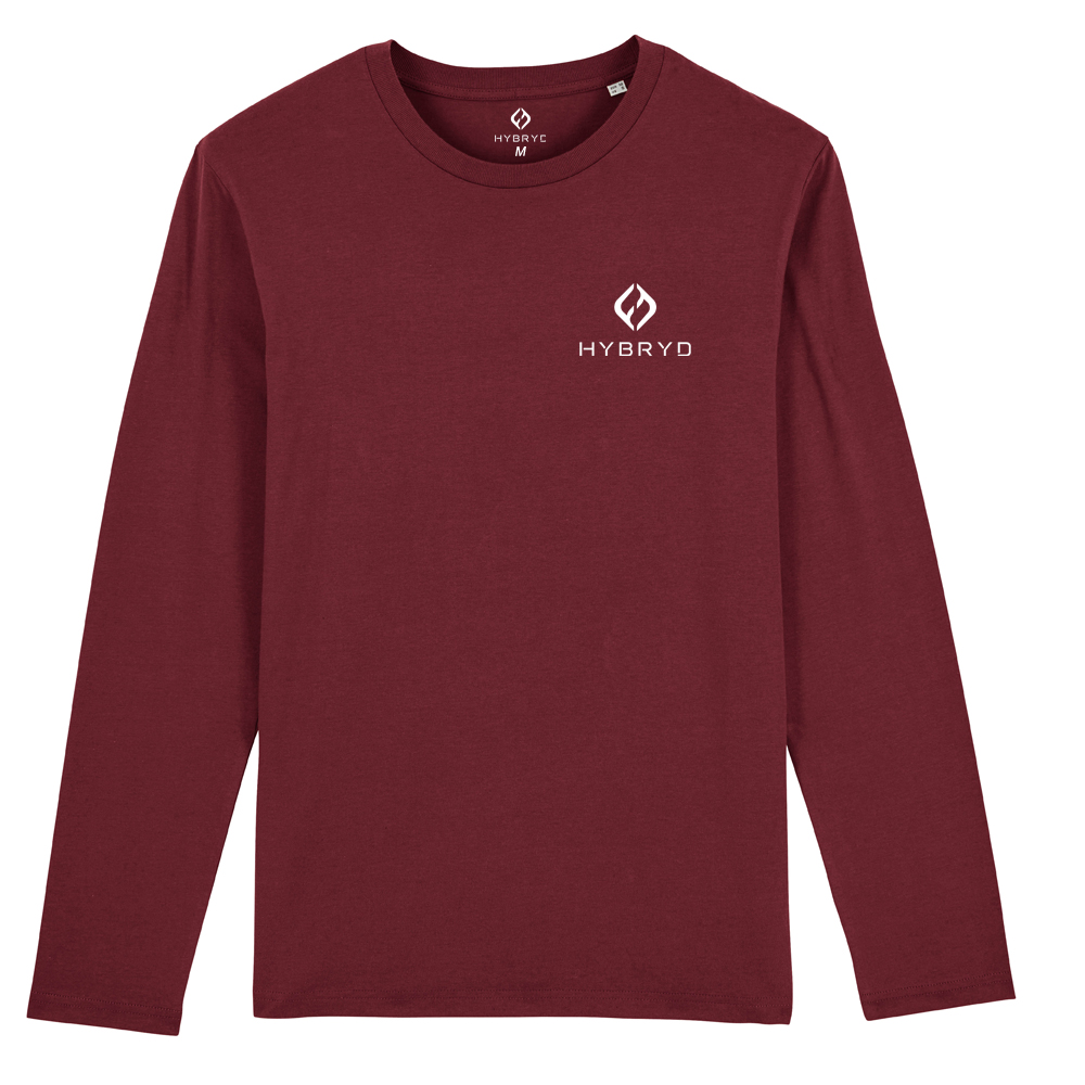 Icon Long Sleeve T - Wine