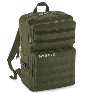 Hybryd Military Backpack- Military Green