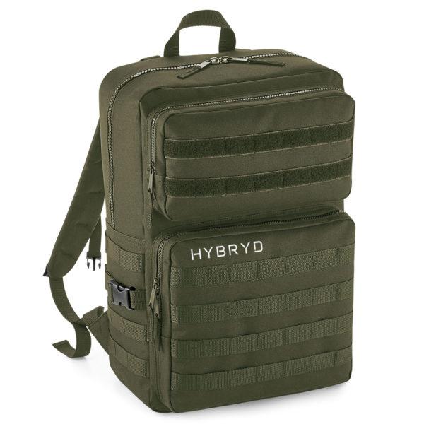 Hybryd Military Backpack- Military Green