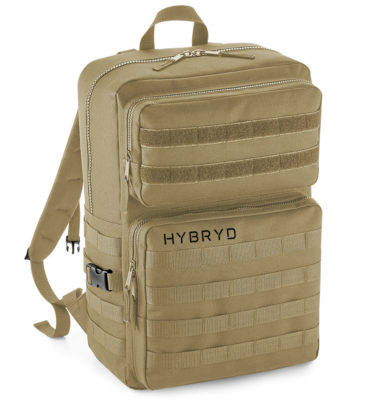 military backpack sand