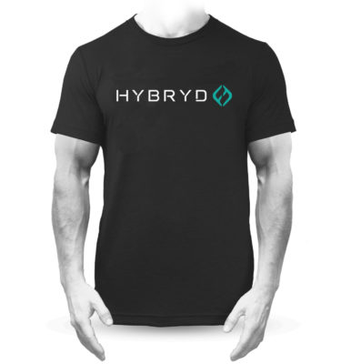 Hybryd Premium Large Icon T – Black