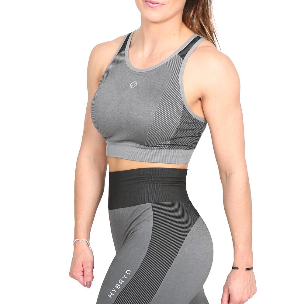Hybryd Omega Bra - Grey
