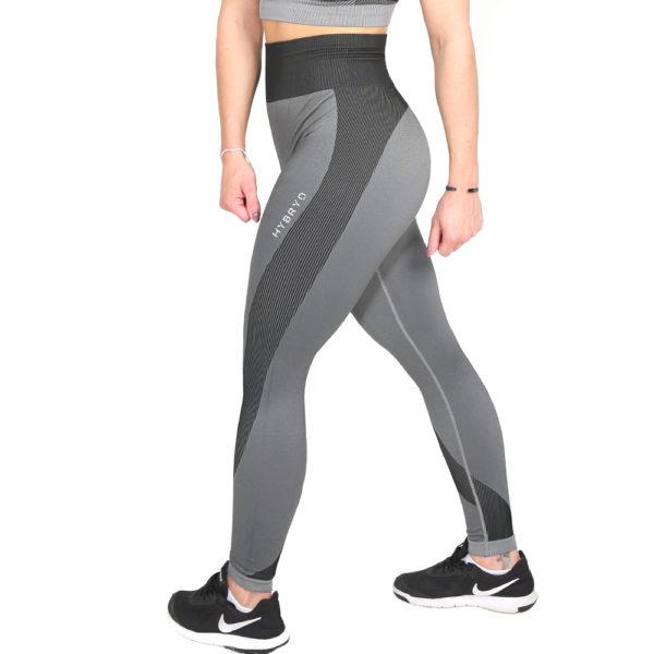 Hybryd Omega Legging - Grey